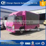 cheapest price light howo P6 outdoor digital billboard truck