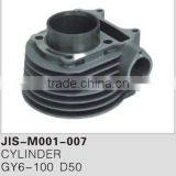 Motorcycle cylinder for GY6-100 D50
