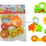 Hot Sale Plastic Toy Rattle Bell Baby Toy