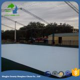 Wear Abrasion Resistant Outdoor Synthetic Ice Rink Floor Panels