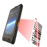 7 inch Android 5.1 OS 1D laser barcode scanner rugged tablet PC Quad core 1.2ghz RAM 2GB ROM 16GB ST907W-G+J