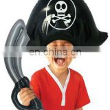 Inflatable Pirate Hat and Sword