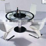 AH6603 luxury round dining table design 2014