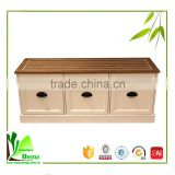 Living Room Furniture Bamboo Stylish TV Stand