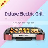 Deluxe Electric Grill Household Grill Korean Barbecue Grill Chicken Grill Machine