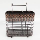 woven decoration kitchen metal shelf BS2007-1-L