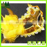 Hot sale Flower design mask for Halloween Karneval party PVC party Cosplay face mask