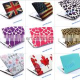 Popular Folio Plastic Protective Hard Shell Case For Apple Macbook Air 13 inch