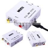 Mini TV <b>System</b> <b>Converter</b> PAL/NTSC <b>Video</b> <b>Converter</b> Composite Connection NTSC TO PAL or PAL to NTSC <b>Video</b> Conversion