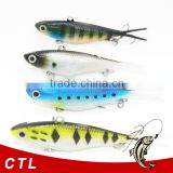 China factory vib soft lure wholesalers in China Hebei province Soft VIBE Lure Made of TPR Fishing Bait