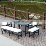 Aluminium Rattan Dining Set Lovest Furniture