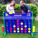 Outdoor connect four game Garden 4 in a line game for rental Chess products