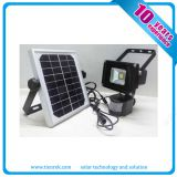 10w Solar Rechargeable LED Flood Lights