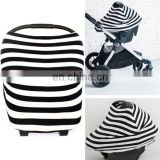 4 in 1 baby car seat cover/nursing cover/shopping cart cover and high chair cover