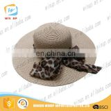 New Summer Women Wide Brim Sun Hat Cheap UV Visor Hat With Bowknot