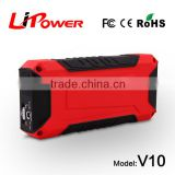 New style auto power bank car jump starter with ResQMe lifehammer 12000mAh