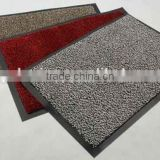rubber material shoe cleaning door mat