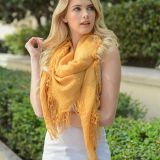 Plain Color Soft Spring Autumn Fringed Women Scarf Shawl Wrap Wholesale