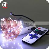 Christmas Decoration Outdoor String 10M 33FT Remote Control LED Copper Wire Christmas Lights String Lights