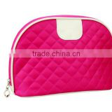 Easy carry promotional nylon cosmetic bag for travel use