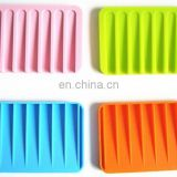 eco-friendly silicone soap box, soap dish