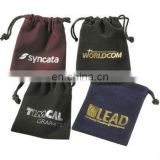specialized in custom drawstring bag cheap jewellery velvet drawstring pouch