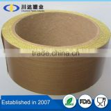 High Temperature PTFE Material PTFE Coated Fiberglass Fabric With Silicone Adhesive