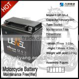 12N9-BS motorcycle dry battery (12V9AH)
