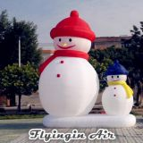 Cute Christmas Inflatable Snowman for Indoor and Outdoor Decoration