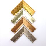J06041 series ps picture frame moulding Antique copperand gold painting frame lines
