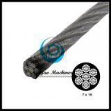 Vinyl Coated Stainless Steel Cable (T304)-aircraft cable(Linear foot)