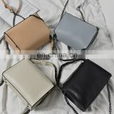 Autumn And Winter Europe Lattice Chain Bag Suede Fashion Shoulder Bag