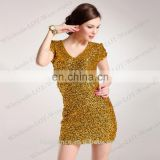BestDance ladies party evening dress wear short sleeve sequin mini dress sexy tight mini skirt wedding dress OEM