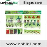 Fittings For Family Size Biogas System
