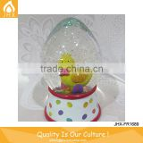 Easte Day Gift Resin Decorative Clear Plastic Easter Egg For Kid