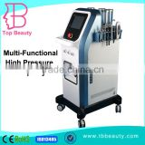 Multi-Functional High Pressure Skin Anti-aging Spa Swing Arm System Microdermabrasion Beauty Equipment Lip Line Removal Cool Light