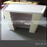 vacuum forming plastic portable promotor display stand