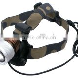 DR-818 XM-L T6 LED 3-Mode 800LM High Power Zoom Focus Headlamp and headlight
