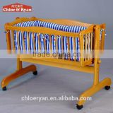New born baby swing bed adjustable fixed and rocking child bed