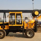 Best seller ! wheel type rotary drilling rig for sale , HF-W11 hydraulic rotary drilling machine