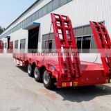 3 axle low bed semi trailer trailer supplier