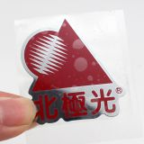 3M glue waterproof plating metal label for machine
