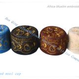 Africa Muslim embroidered wool cap