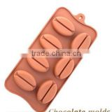 7 hoel Creative DIY chocolate Mould Silicone Fuller Lips Red Beans form Mold DIY ice tray