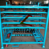 Customized Auto Parts Turnover Trolley Protection Stack Racks