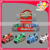 Cute Alloy Motorcycle Toys Car Pull Back Motorcycle For Kids