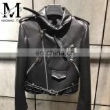 New Item Leather Jackets Fashion Cool Women Mexico Leather Jackets Bikers