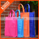 Color cheap cotton foldable shopping bag