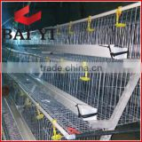 Galvanized Metal Multi-Tier Chicken Rearing Cage For 96 Birds, 120 Birds, 128 Birds, 160 Birds
