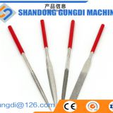 easy-operated small Diamond Surfaced round/half-round/triangle/square Needle File use in general and for smooth tile